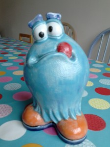 Bill the monster money bank will keep your pennies safe! £20
