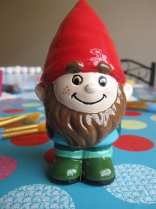 Wee Fudwick will help you with your gardening! £11.20
