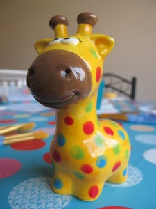 Why has the giraffe got such a long neck? It's to attach their heads to their bodies! £12.50