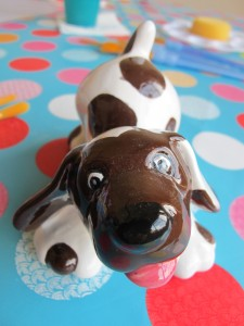 Woof grrr....wanna play...I wanna play...come and play at Elsie's! £10.50