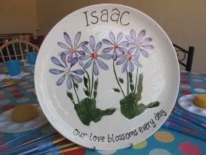 Your child's handprints can be made into beautiful pictures. You can do this yourself or they can be commissioned, prices start from £35