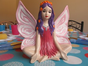 You'll feel just as calm and serene as this fairy when you have finished painting her £18.80