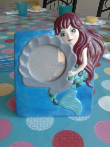 Lovely mermaid picture frame all ready for pictures of your own little sea urchins £20.60