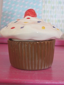 Our lovely calorie free cupcake trinket box £16