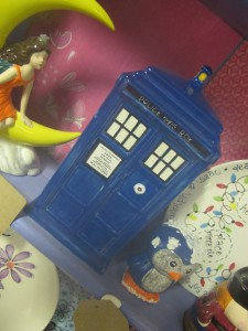 this TARDIS will remind dad of when he was a lad and used to hide behind the sofa on a Saturday night!