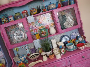 One of our cabinets with a great choice of potty loveliness for you to choose from!